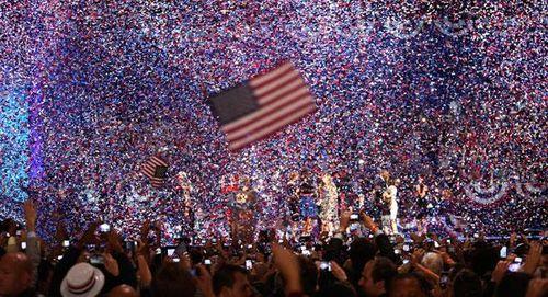Obama victoire photo