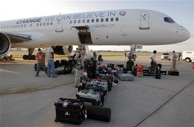 Obama airplane