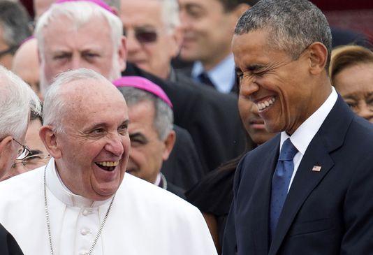 Obama pape 25 05 17