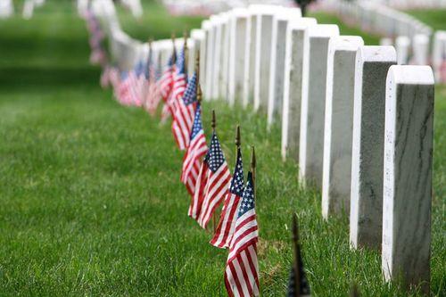 Drapeaux US vétérans