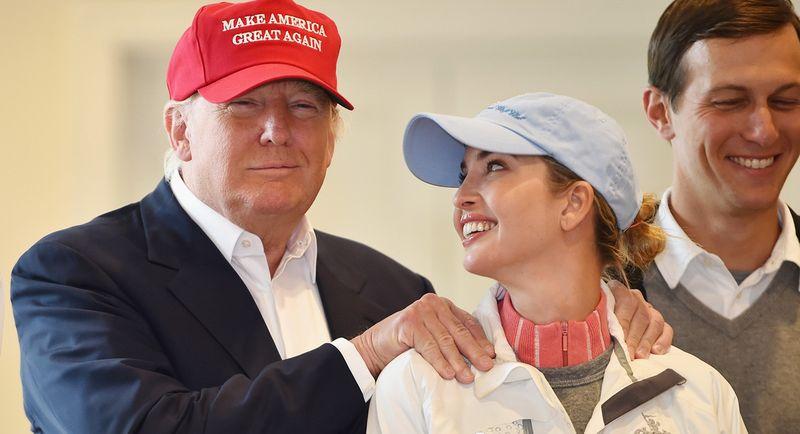 Trump et sa fille 3
