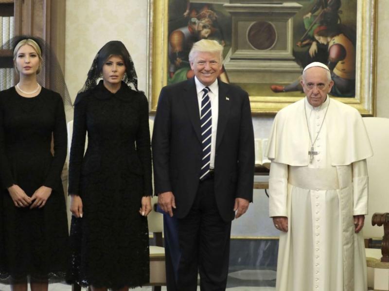 Trump pape 25 05 17