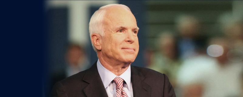 John McCain 27 08 17