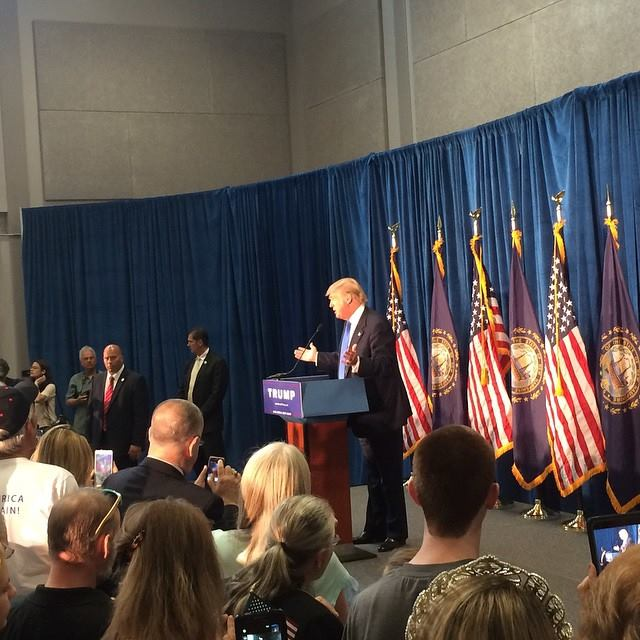 Donald Trump 10 07 15