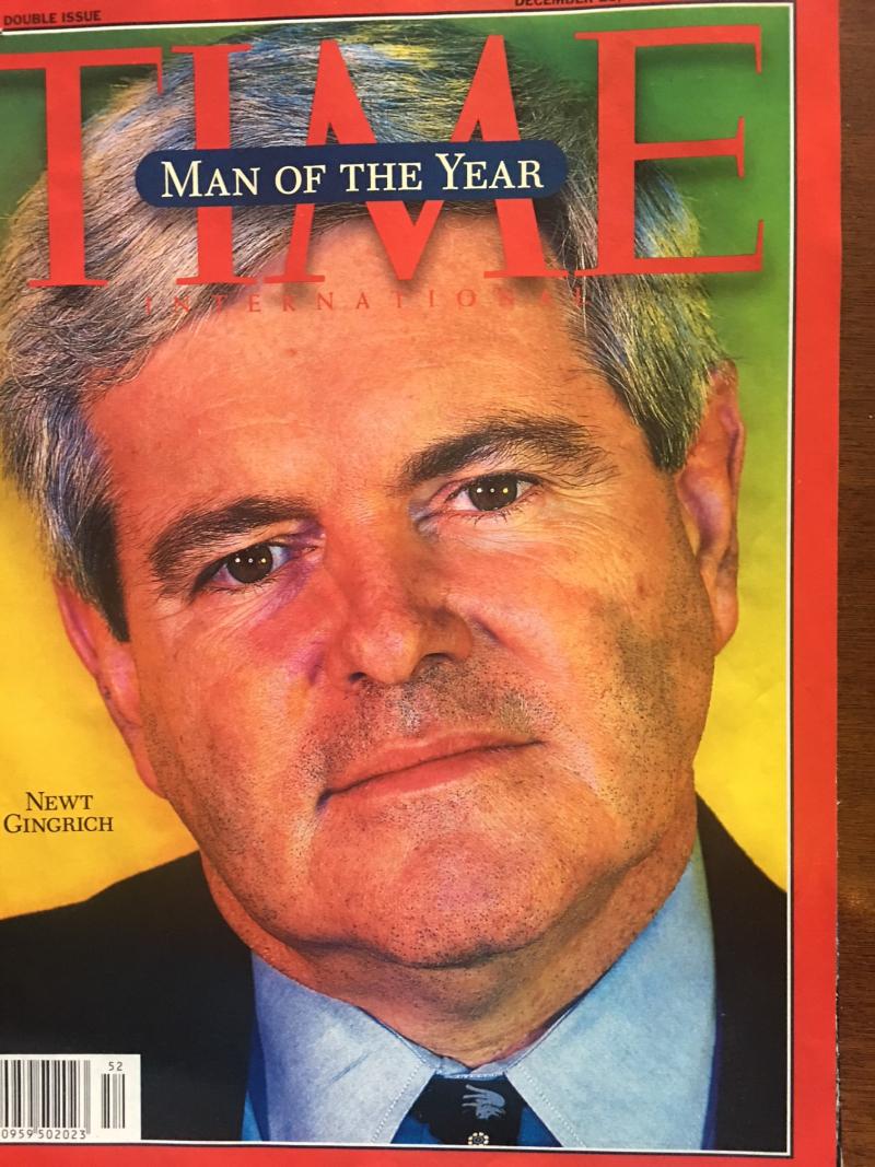Gingrich janvier 1996