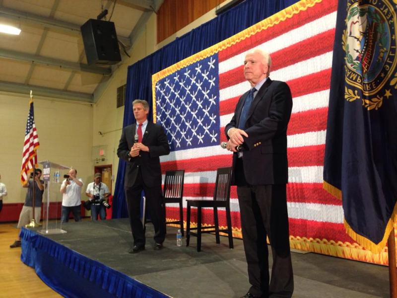 John McCain Scott Brown