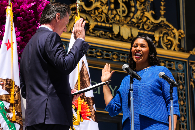London Breed San Francisco 11 07 18
