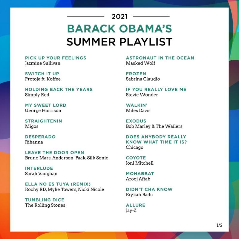 Obama playlist 1 12 07 21