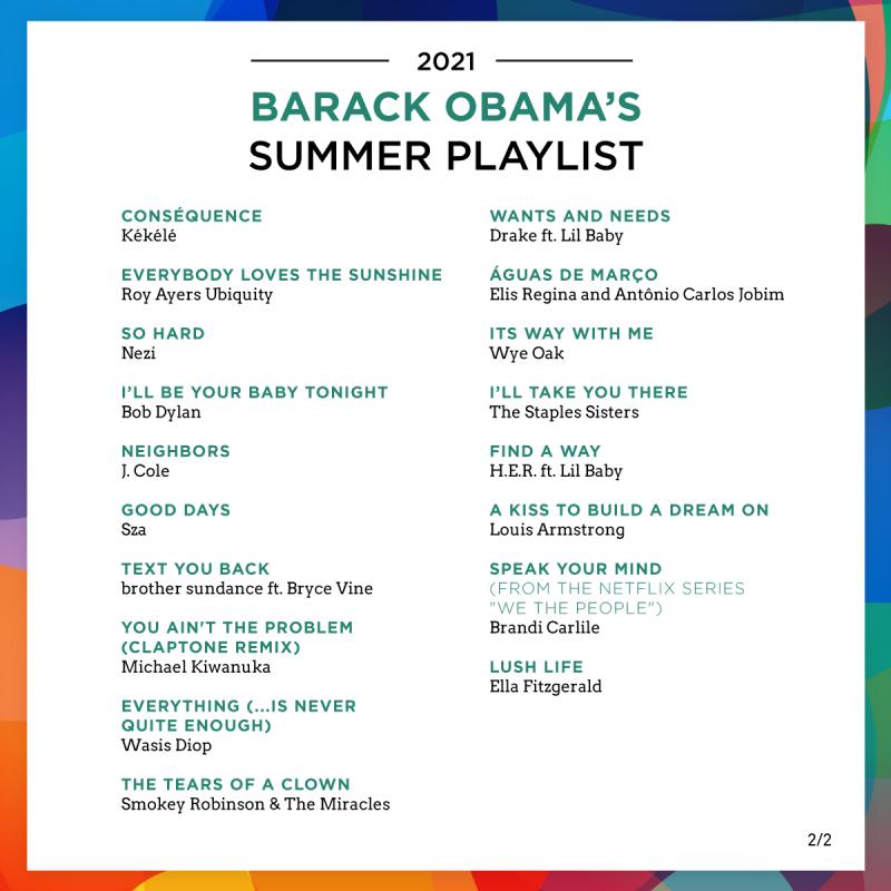 Obama playlist 2 12 07 21