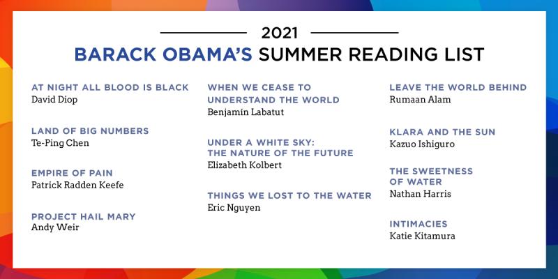 Obama reading list 12 07 21
